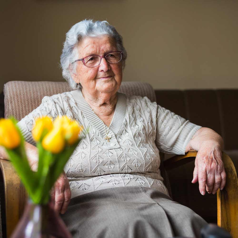 Memory Care Resident at Chatham Place in New Haven, CT